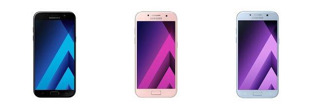 Samsung announces the Galaxy A (2017) smartphone range
